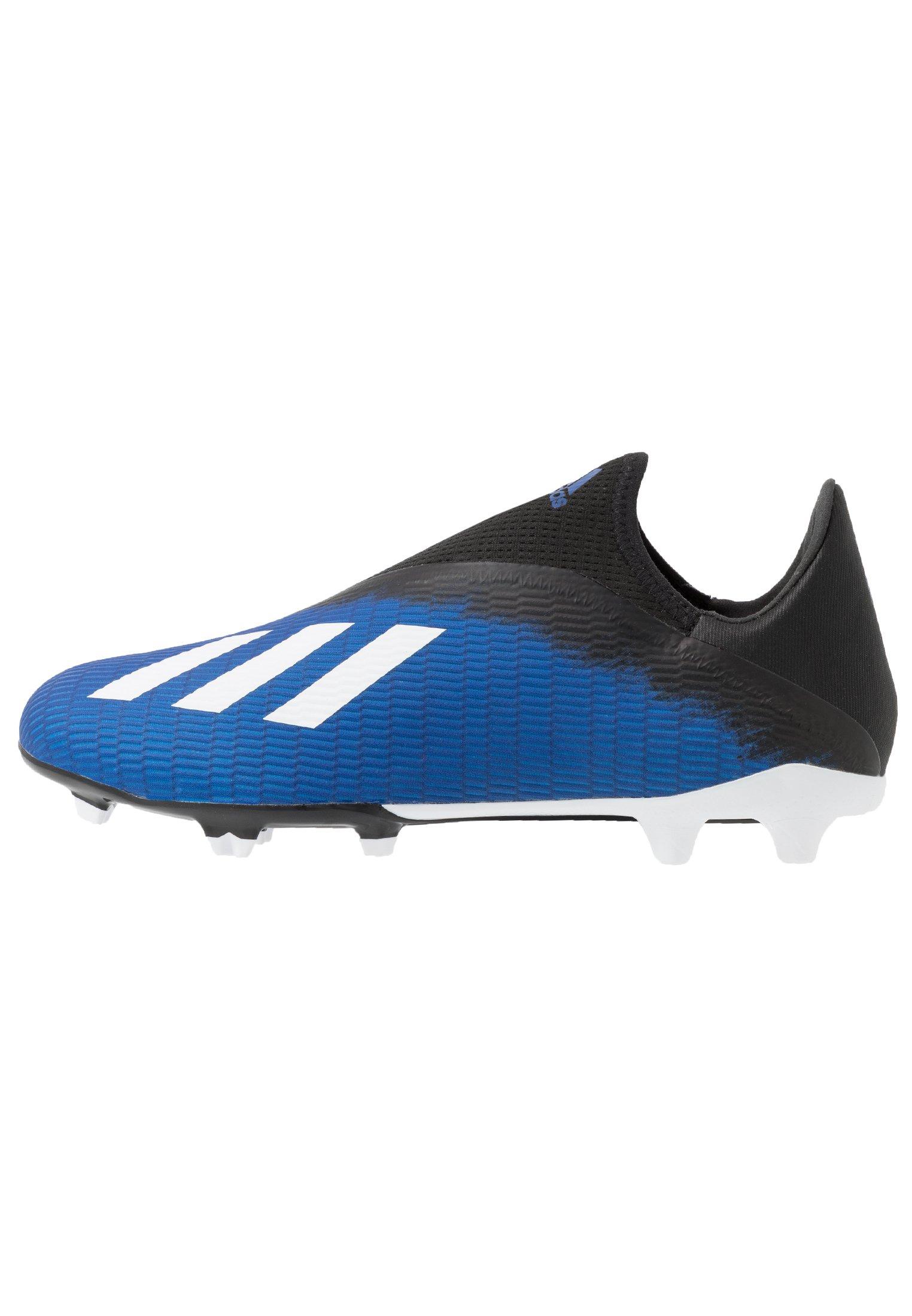Adidas Performance X 19.3 Ll Fg - Fotbollsskor Fasta Dobbar Royal Blue/footwear White/core Black