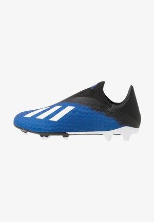 X 19.3 LL FG - Botas de fútbol con tacos - royal blue/footwear white/core black