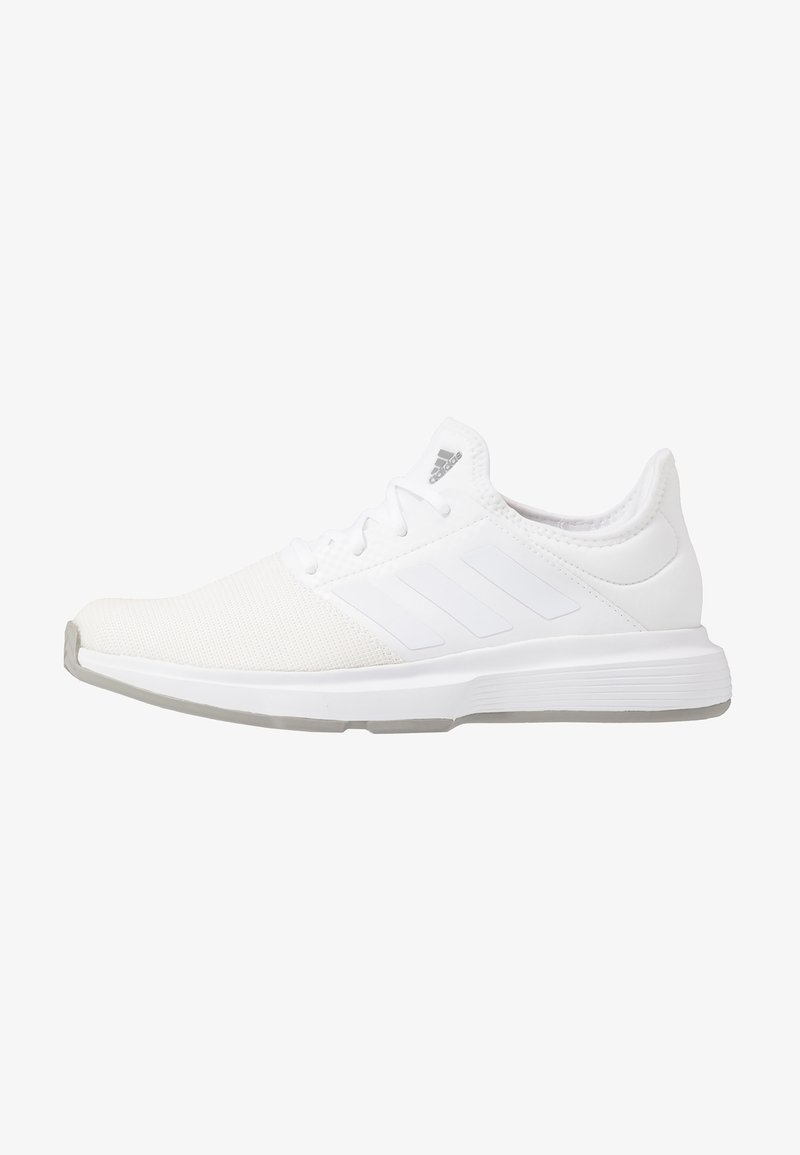 adidas Performance - GAMECOURT BARRICADE CLOUDFOAM TENNIS SHOES - Allcourt tennissko - footwear white