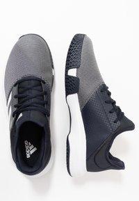 adidas Performance - GAMECOURT BARRICADE CLOUDFOAM TENNIS SHOES - Kengät kaikille alustoille - legend ink/footwear white - 1