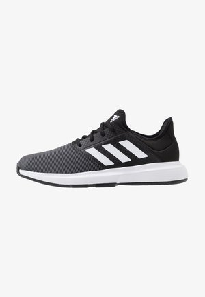 GAMECOURT BARRICADE CLOUDFOAM TENNIS SHOES - Allcourt tennissko - core black/footwear white/grey six