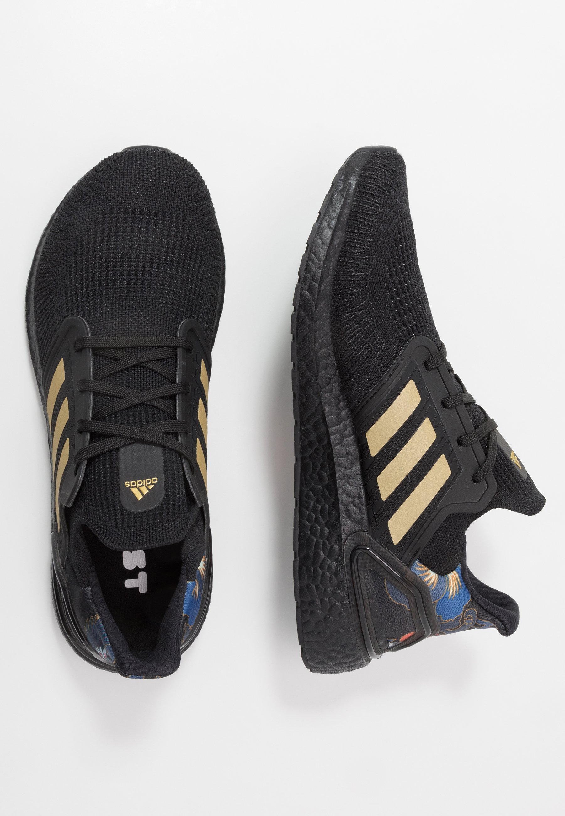 adidas Performance ULTRABOOST 20 CNY - Scarpe running neutre - core black/gold metallic/signal coral