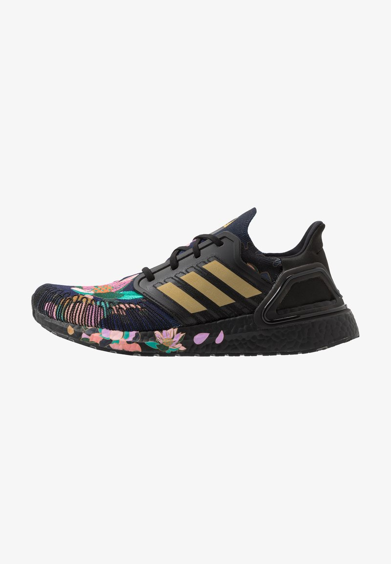 adidas Performance - ULTRABOOST 20 CNY - Zapatillas de running neutras - core black/gold metallic/signal coral