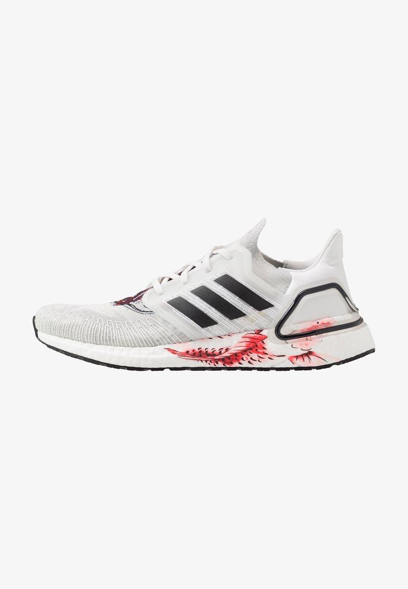 adidas Performance - ULTRABOOST 20 - Zapatillas de running neutras - crystal white/core black/solar red