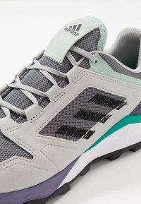 adidas Performance - TERREX AGRAVIC TR UB - Trail running shoes - grey three/core black/grey two - 5