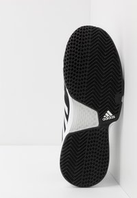 adidas Performance - COURTJAM BOUNCE - Multicourt tennis shoes - core black/footwear white/metallic silver - 4
