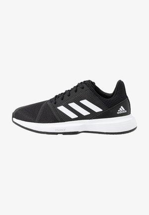 COURTJAM BOUNCE - Tennisschoenen voor alle ondergronden - core black/footwear white