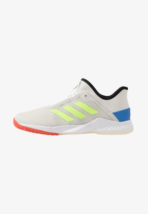 ADIZERO CLUB - Multicourt tennis shoes - orbit grey /signal green/glow blue