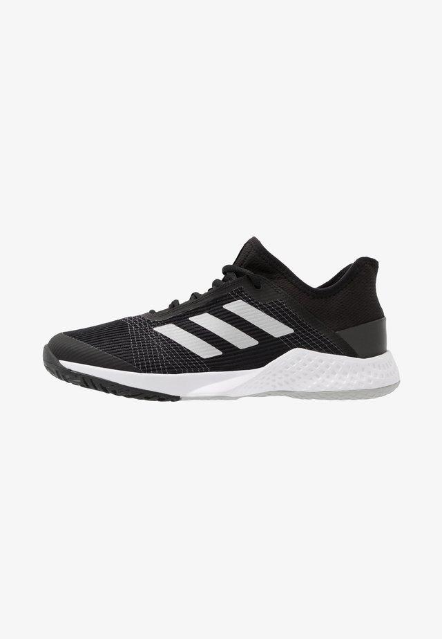 ADIZERO CLUB - Multicourt tennis shoes - core black/silver metallic/grey two