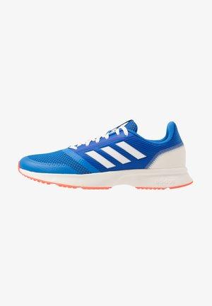 NOVA FLOW - Zapatillas de running neutras - glow blue/footwear white/solar red