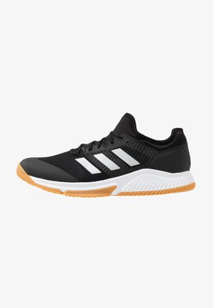 COURT TEAM BOUNCE - Handball shoes - core black/silver metallic/footwear white