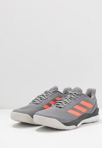 adidas Performance - STABIL BOUNCE - Käsipallokengät - grey three/signal coral/grey six - 2