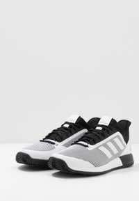 adidas Performance - DEFIANT BOUNCE 2  - Multicourt tennis shoes - core black/footwear white - 2