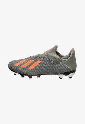 X 19.3 - Chaussures de foot à crampons - legend green/solar orange/core white
