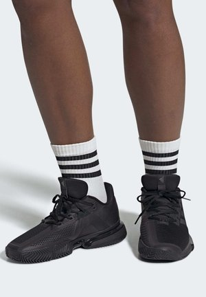 SOLEMATCH BOUNCE SHOES - Tennisskor för grus - black