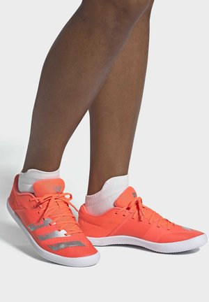 THROWSTAR SHOES - Stabilty running shoes - signal coral
