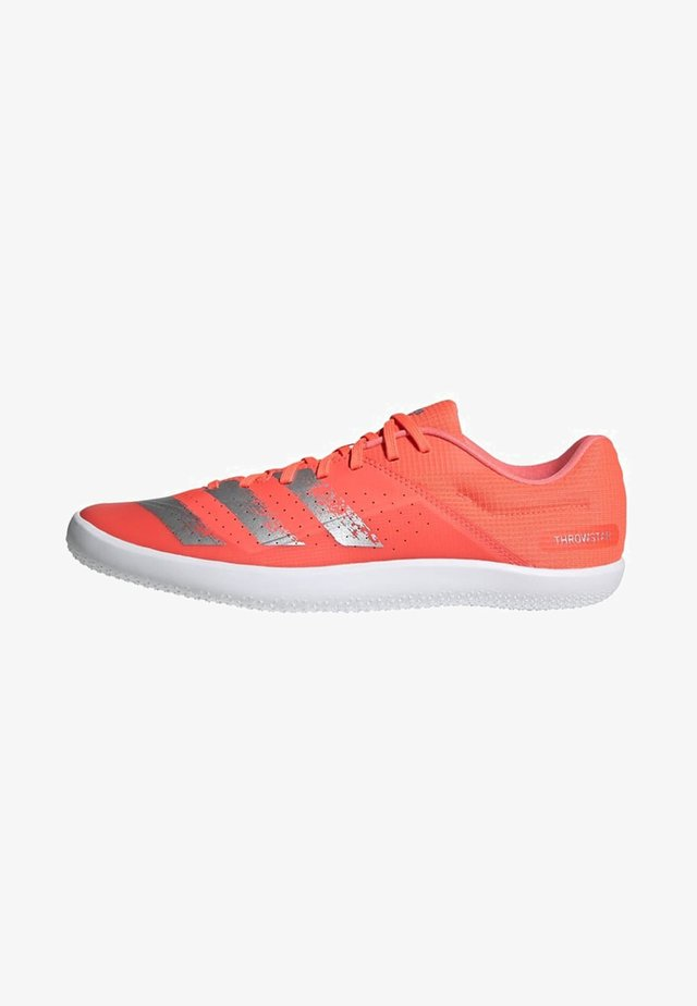 THROWSTAR SHOES - Stabiliteit hardloopschoenen - signal coral