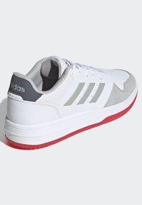adidas Performance - GAMETALKER SHOES - Stabile løpesko - white - 4