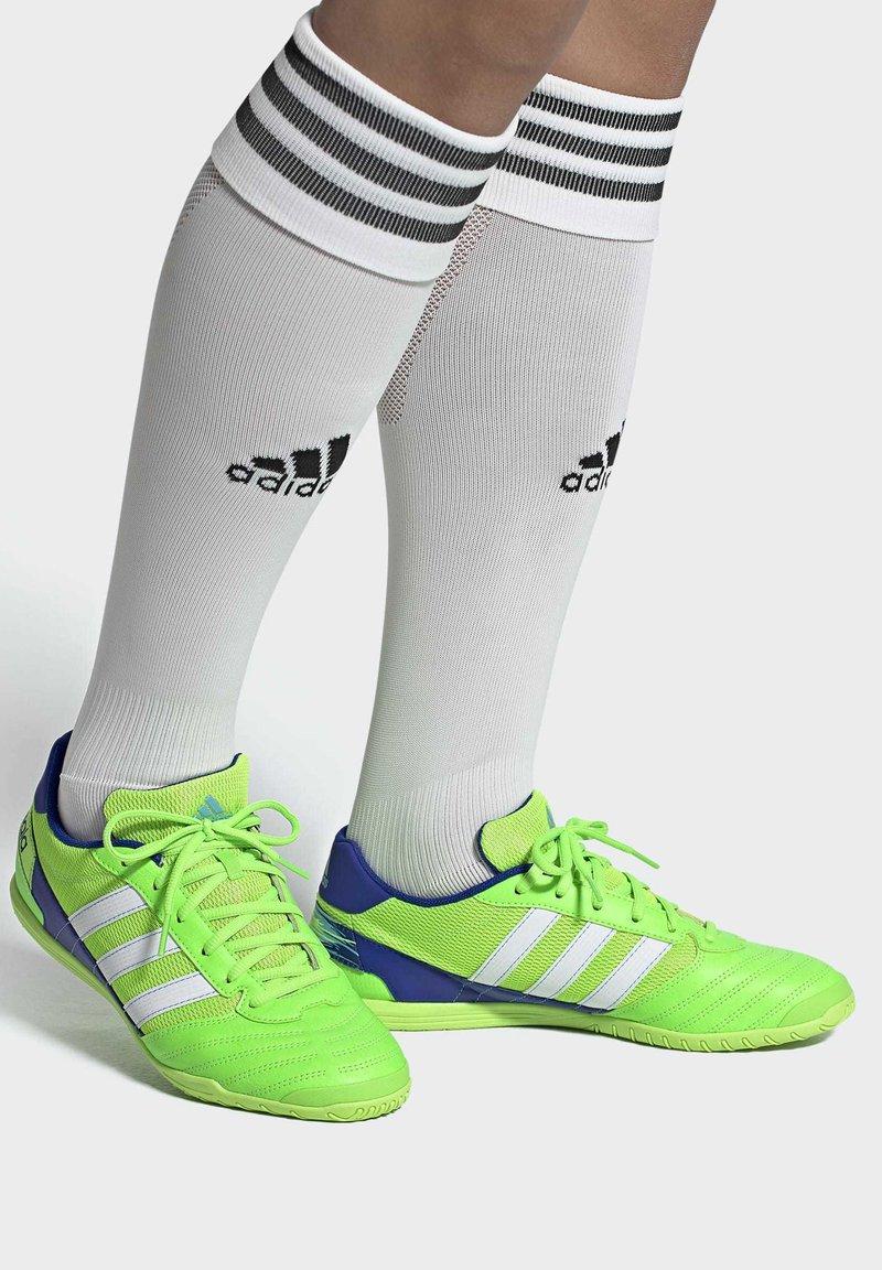 adidas Performance - SUPER SALA BOOTS - Indoor football boots - green