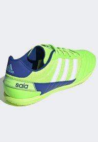 adidas Performance - SUPER SALA BOOTS - Indoor football boots - green - 4