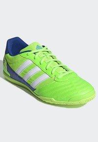 adidas Performance - SUPER SALA BOOTS - Indoor football boots - green - 3
