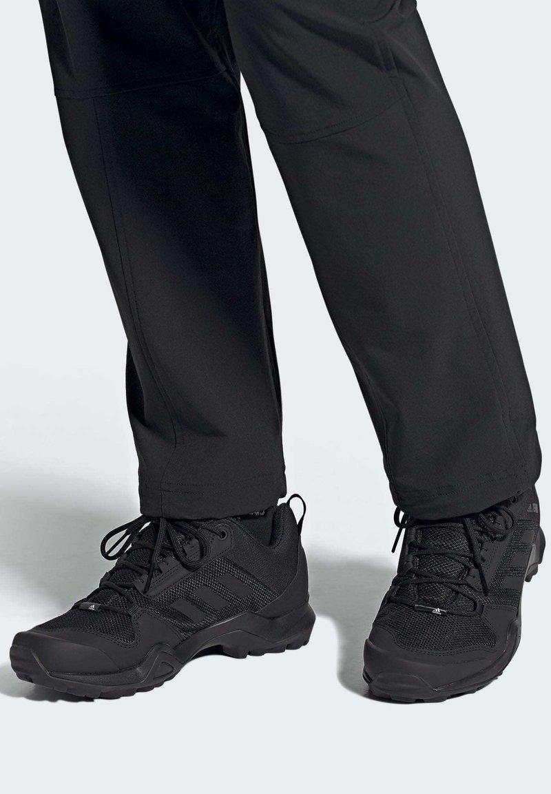 adidas Performance - TERREX AX3 HIKING SHOES - Hiking shoes - black
