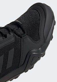 adidas Performance - TERREX AX3 HIKING SHOES - Hiking shoes - black - 6