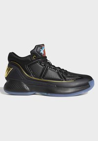 adidas Performance - D ROSE 10 SHOES - Koripallokengät - black - 9