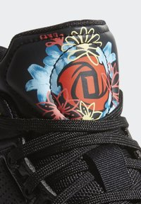 adidas Performance - D ROSE 10 SHOES - Koripallokengät - black - 7