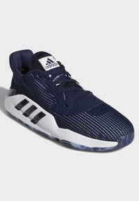 adidas Performance - PRO BOUNCE 2019 LOW SHOES - Basketball shoes - blue - 4