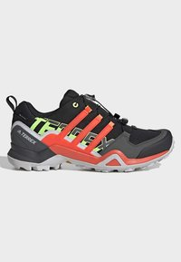 adidas Performance - TERREX SWIFT R2 GORE-TEX HIKING SHOES - Hiking shoes - black - 9