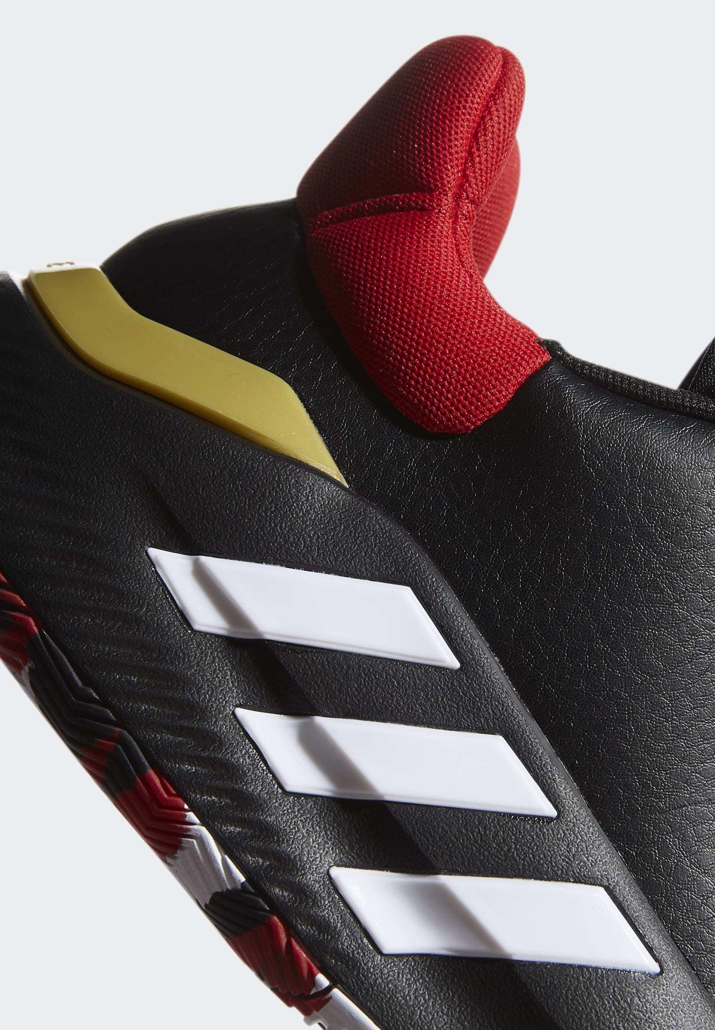 adidas Performance PRO BOUNCE 2019 LOW SHOES - Scarpe da basket - black