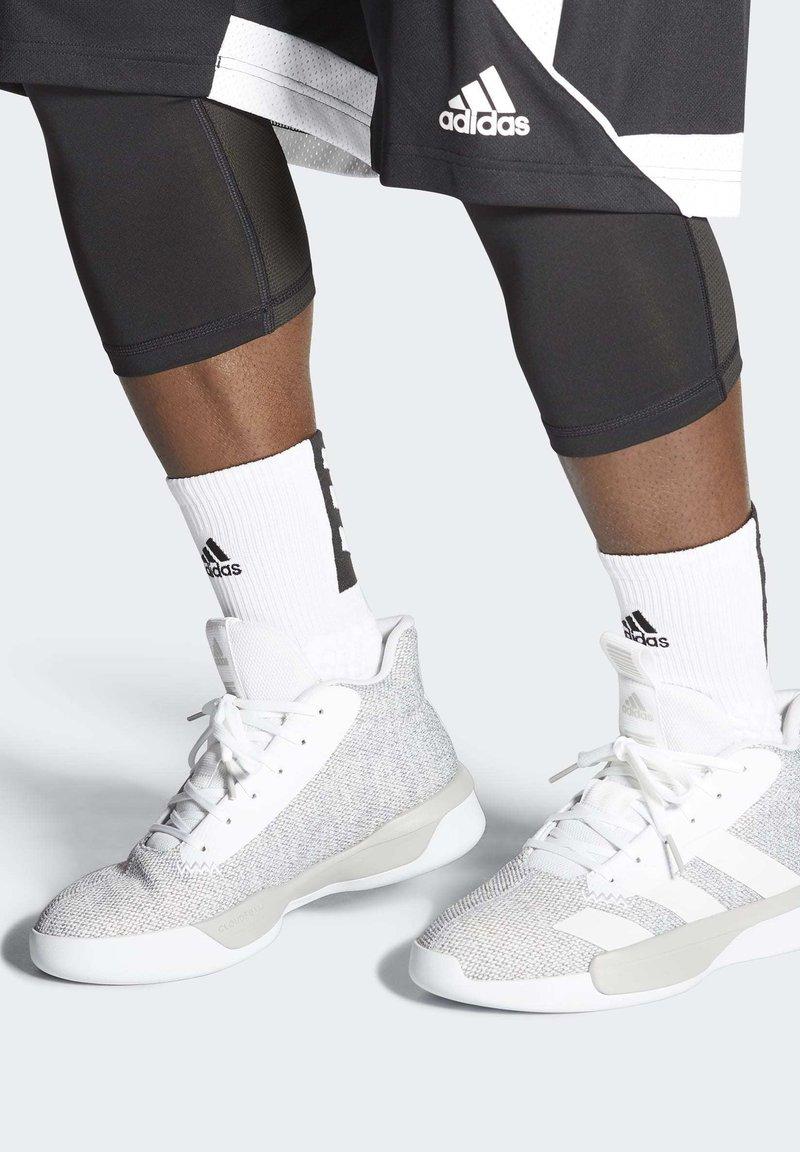 adidas Performance - PRO NEXT 2019 SHOES - Koripallokengät - beige