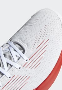 adidas Performance - D ROSE 10 SHOES - Basketball shoes - grey/red/white - 9