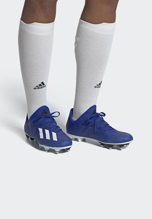 X 19.3 SOFT GROUND BOOTS - Skrueknopper - blue