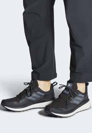 TERREX FOLGIAN HIKER GORE-TEX HIKING SHOES - Hiking shoes - black