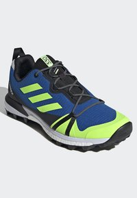 adidas Performance - TERREX SKYCHASER LT HIKING SHOES - Hiking shoes - blue - 3