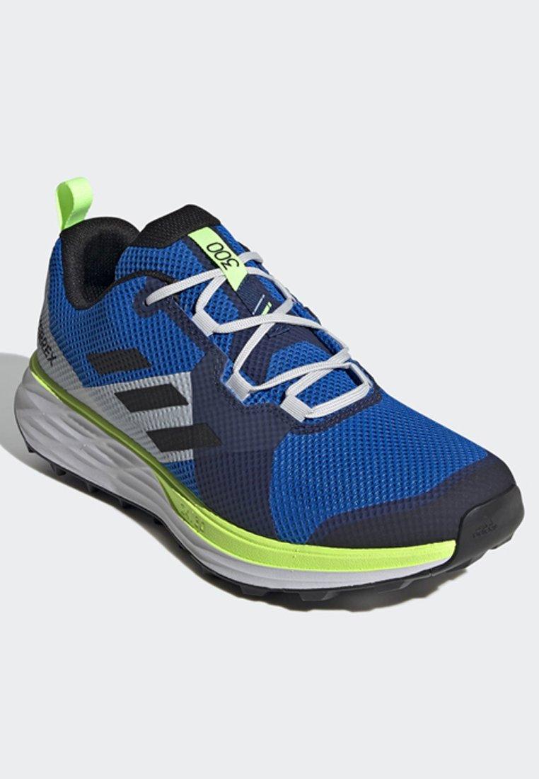 Adidas Performance Terrex Two Trail Running Shoes - Löparskor Terräng Blue