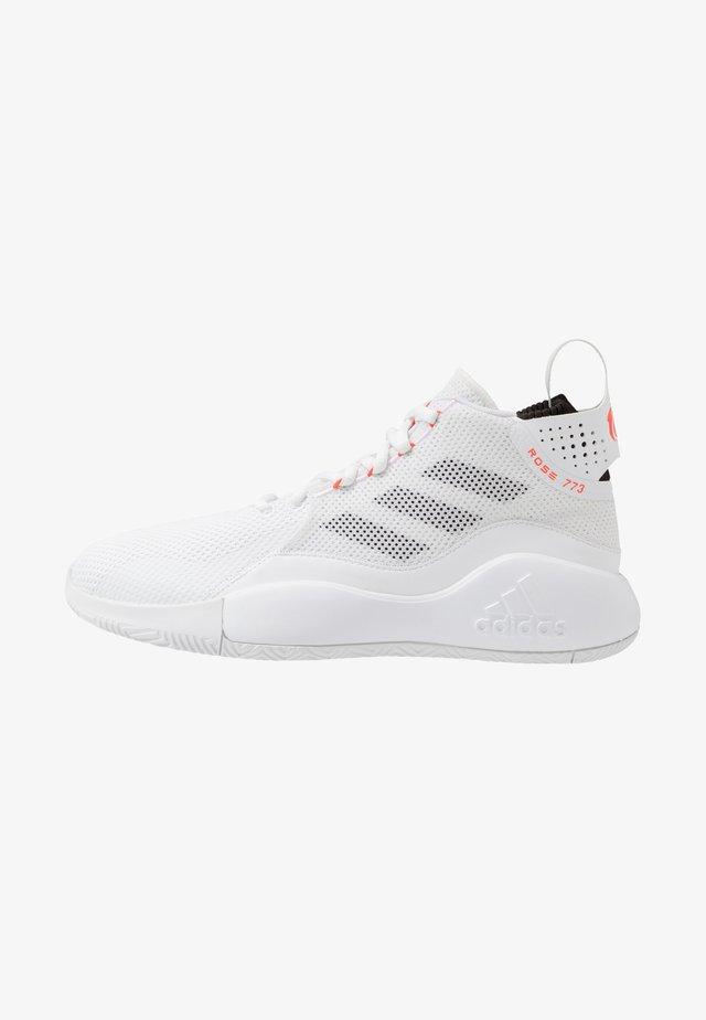 ROSE 773 2020 - Koripallokengät - footwear white/solar red/core black