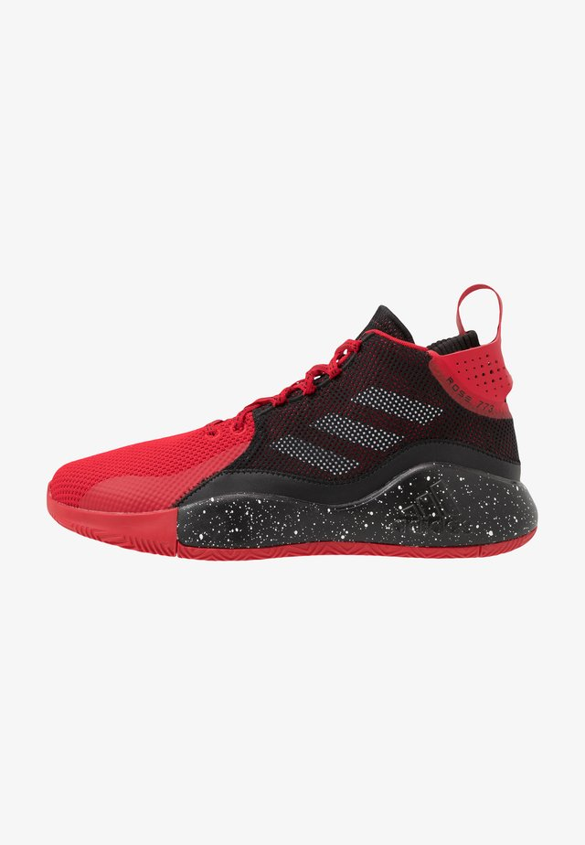 ROSE 773 2020 - Basketballsko - scarlet/core black/footwear white