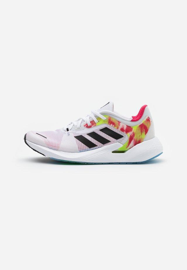 ALPHATORSION - Neutral running shoes - footwear white/core black/power pink