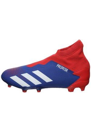PREDATOR 20.3 FG FUSSBALLSCHUH HERREN - Voetbalschoenen met kunststof noppen - royal blue / footwear white / action red