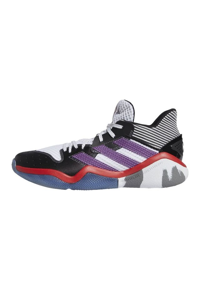 HARDEN STEP-BACK SHOES - Basketball shoes - white