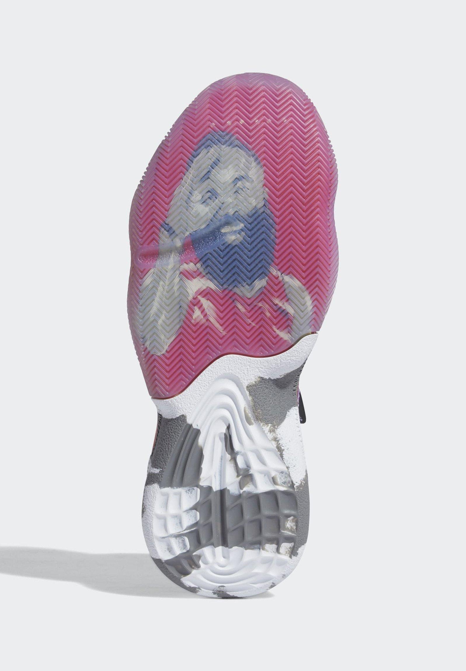 Adidas Performance Harden Step-back Shoes - Basketbalschoenen White Goedkope Schoenen