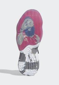 adidas Performance - HARDEN STEP-BACK SHOES - Basketball shoes - white - 3