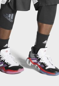 adidas Performance - HARDEN STEP-BACK SHOES - Basketball shoes - white - 1