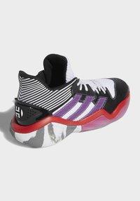 adidas Performance - HARDEN STEP-BACK SHOES - Basketball shoes - white - 5