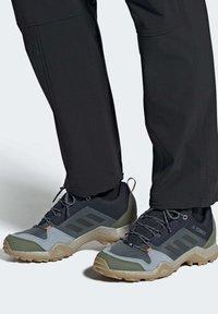 adidas Performance - TERREX AX3 BLUESIGN HIKING SHOES - Hiking shoes - blue - 1