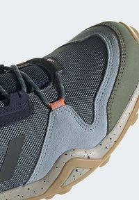 adidas Performance - TERREX AX3 BLUESIGN HIKING SHOES - Hiking shoes - blue - 7