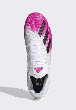 19.3 MULTI-GROUND BOOTS - Voetbalschoenen met kunststof noppen - white